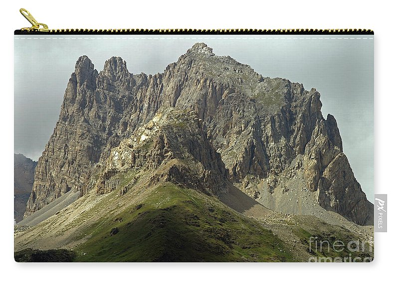 Italy Carry-all Pouch featuring the photograph Italian Alps by Amos Dor