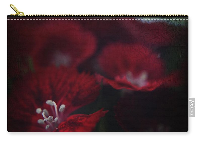 Flowers Carry-all Pouch featuring the photograph It's A Heartache by Laurie Search