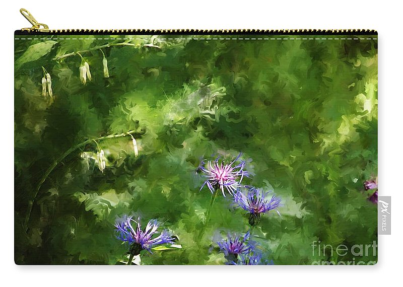 Digital Photo Carry-all Pouch featuring the photograph It's A Still Life I Want To Color by David Lane