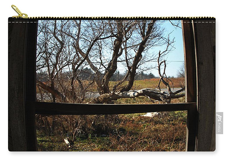 Perspective Carry-all Pouch featuring the photograph It's All A Matter Of Perspective by Amanda Barcon