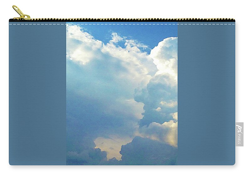 Carry-all Pouch featuring the photograph It's Clouds Illusions I Recall 1 by Robert J Sadler