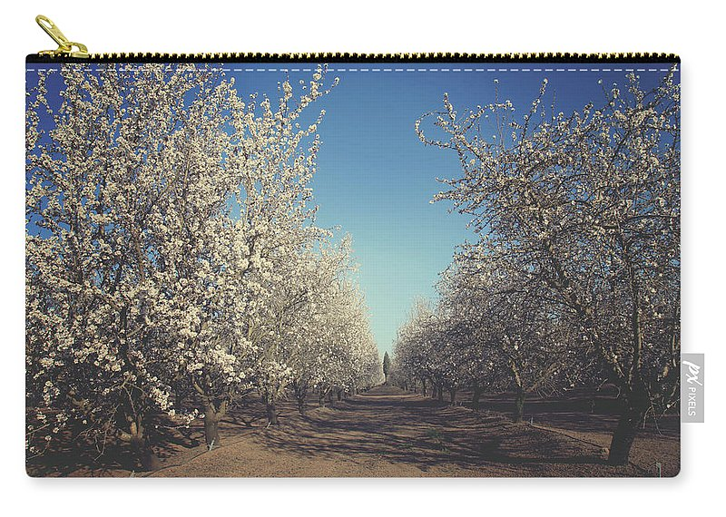 Orchards Carry-all Pouch featuring the photograph It's Gonna Be Quite Alright by Laurie Search