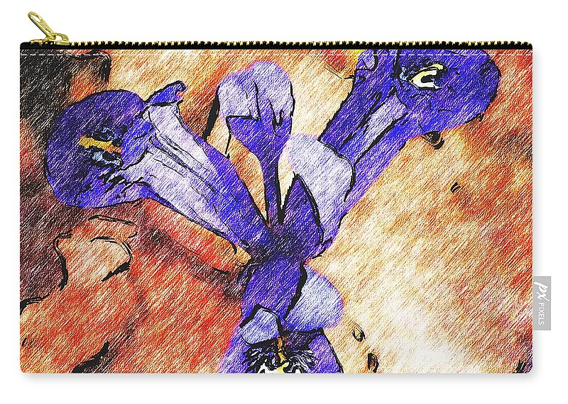 Digital Photography Carry-all Pouch featuring the photograph Its Spring 2010a by David Lane