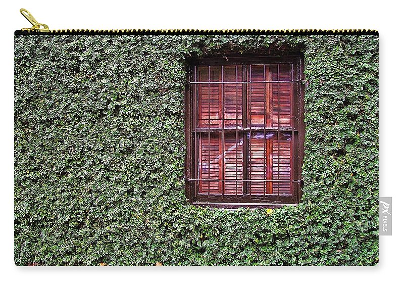 Savannah Carry-all Pouch featuring the photograph Ivy House by JAMART Photography