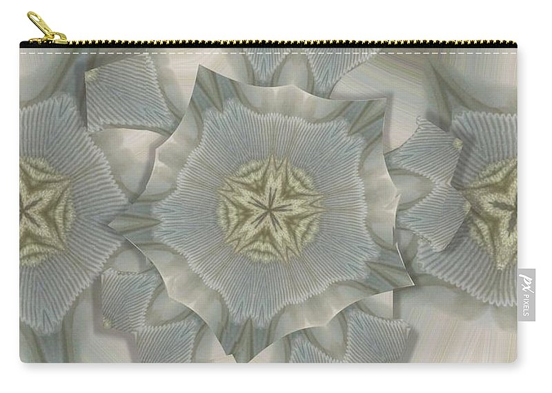 Collage Carry-all Pouch featuring the photograph Jacket Flowers by Ron Bissett
