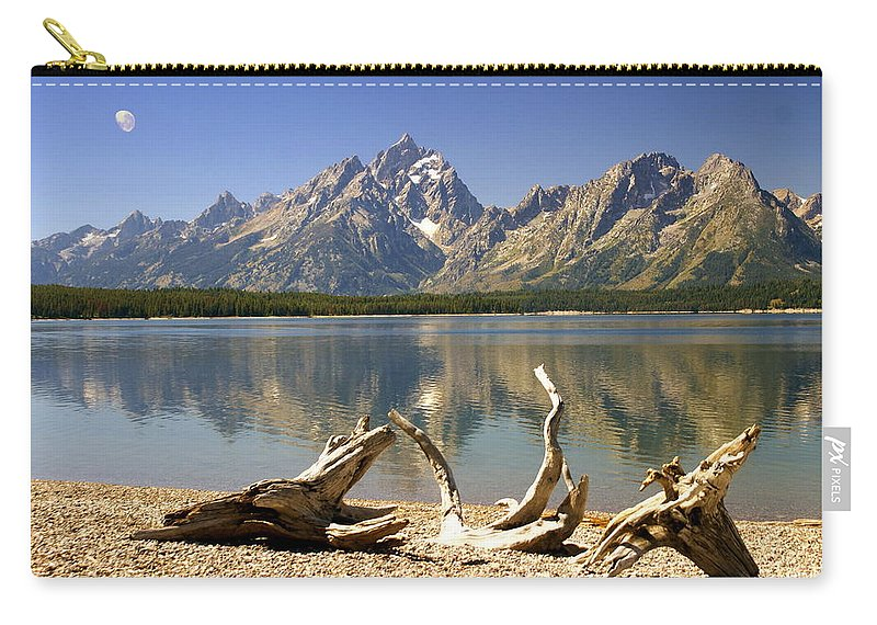 Grand Teton National Park Carry-all Pouch featuring the photograph Jackson Lake 3 by Marty Koch