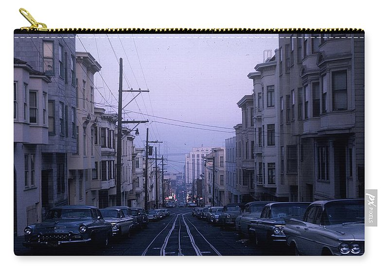 Jackson Street Carry-all Pouch featuring the photograph Jackson Street San Francisco by JW Freshour