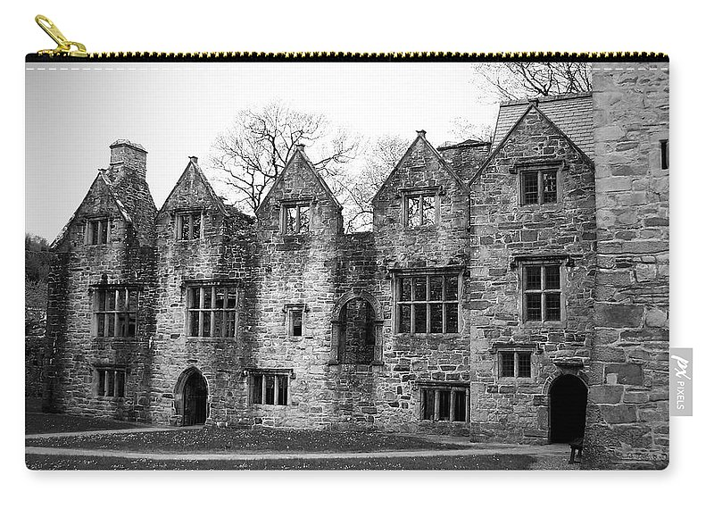 Irish Carry-all Pouch featuring the photograph Jacobean Wing At Donegal Castle Ireland by Teresa Mucha