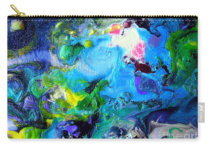 Art Carry-all Pouch featuring the painting Jamaica Nights by Dawn Hough Sebaugh