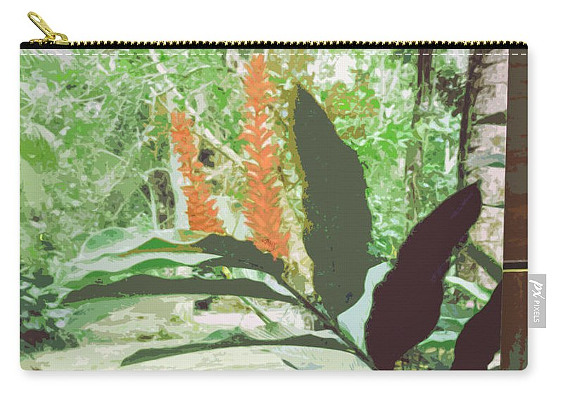 Jamaica Carry-all Pouch featuring the photograph Jamaican River by Ian MacDonald