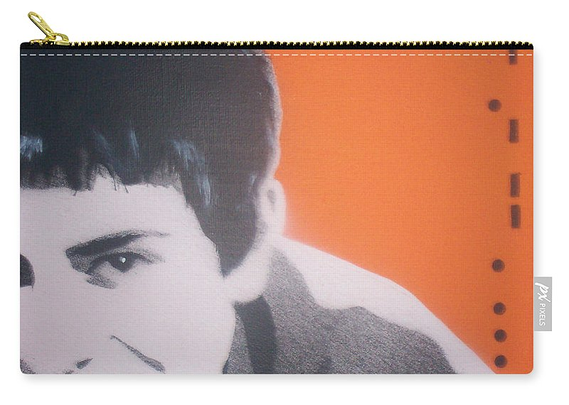 James Carry-all Pouch featuring the painting James by Gary Hogben