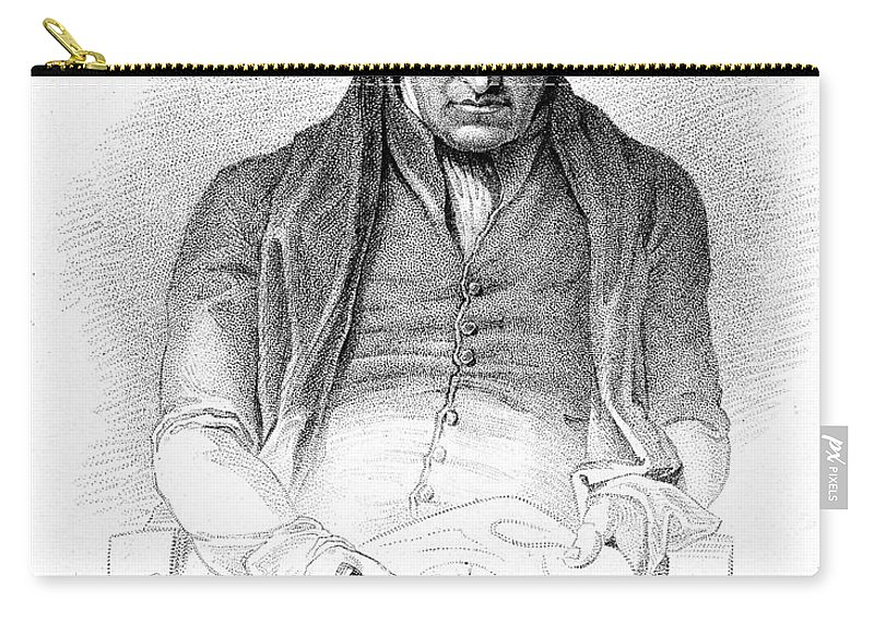 Science Carry-all Pouch featuring the photograph James Watt, Scottish Inventor by Wellcome Images