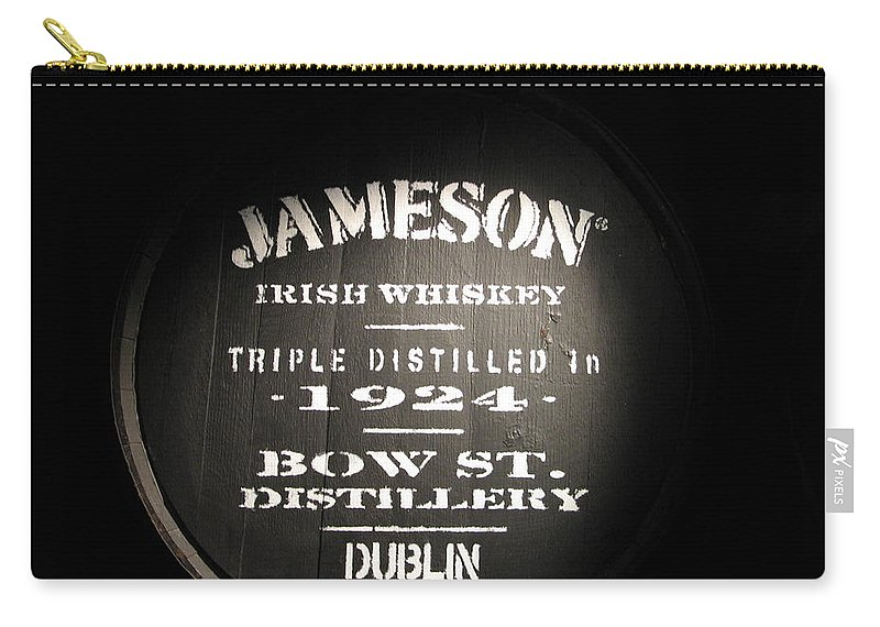 Jameson Carry-all Pouch featuring the photograph Jameson by Kelly Mezzapelle