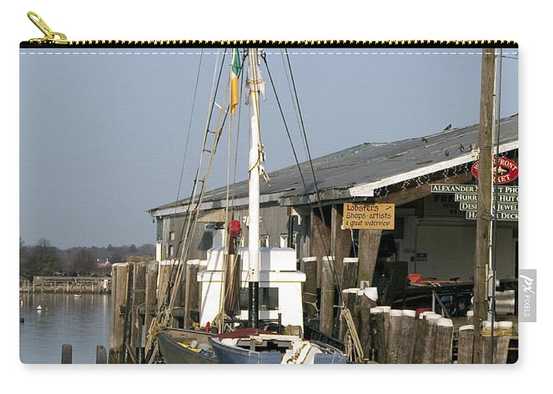 Boat Carry-all Pouch featuring the photograph Janet by Steven Natanson