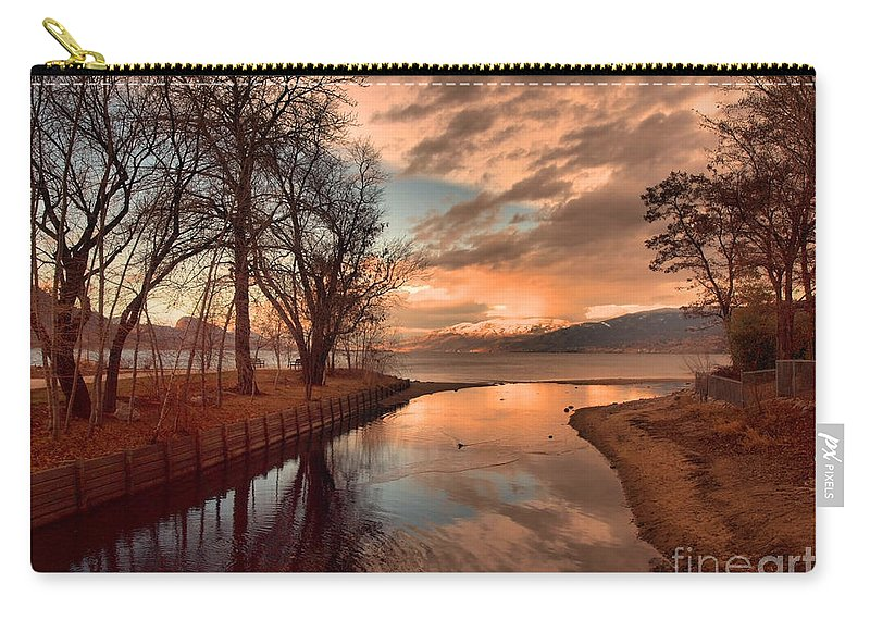 Sunset Carry-all Pouch featuring the photograph January 15 2010 by Tara Turner