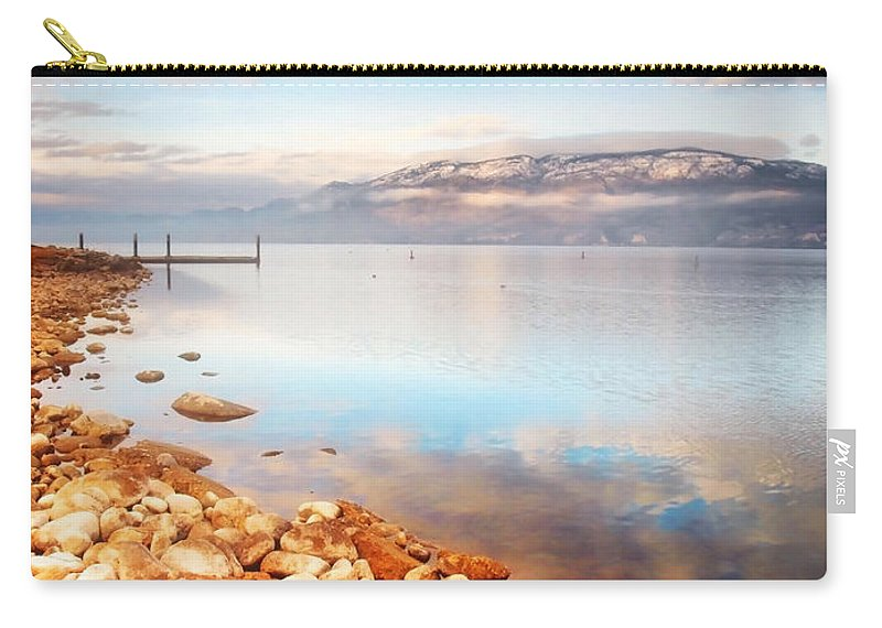 Lake Carry-all Pouch featuring the photograph January 19 2010 by Tara Turner