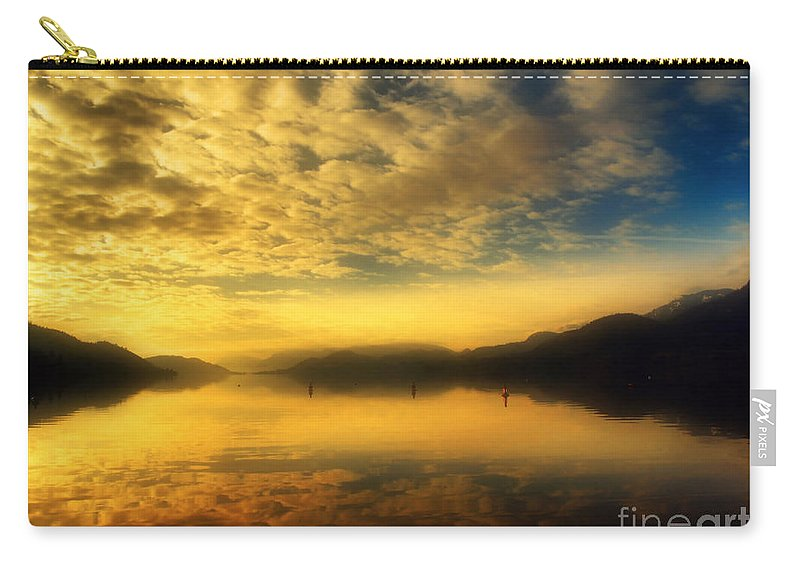Sunrise Carry-all Pouch featuring the photograph January 24 2010 by Tara Turner