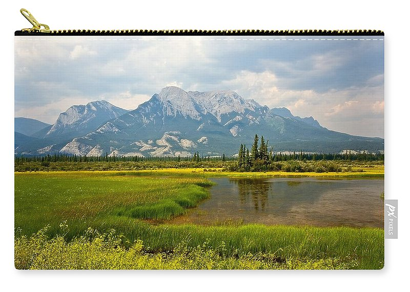 Jasper Carry-all Pouch featuring the photograph Jasper National Park by Colette Panaioti