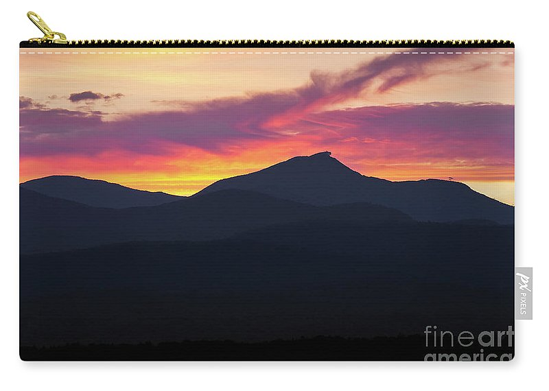 Summer Carry-all Pouch featuring the photograph Jay Peak Sunset by Alan L Graham