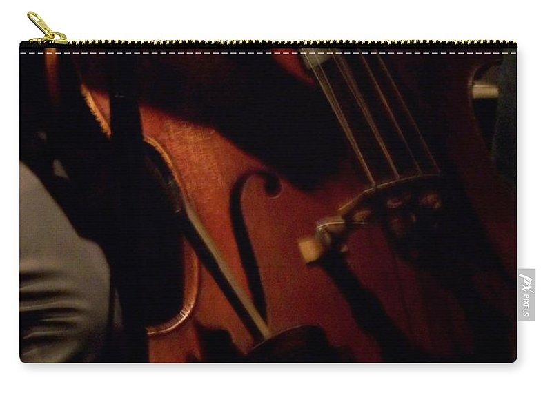 Jazz Carry-all Pouch featuring the photograph Jazz Estate 1 by Anita Burgermeister