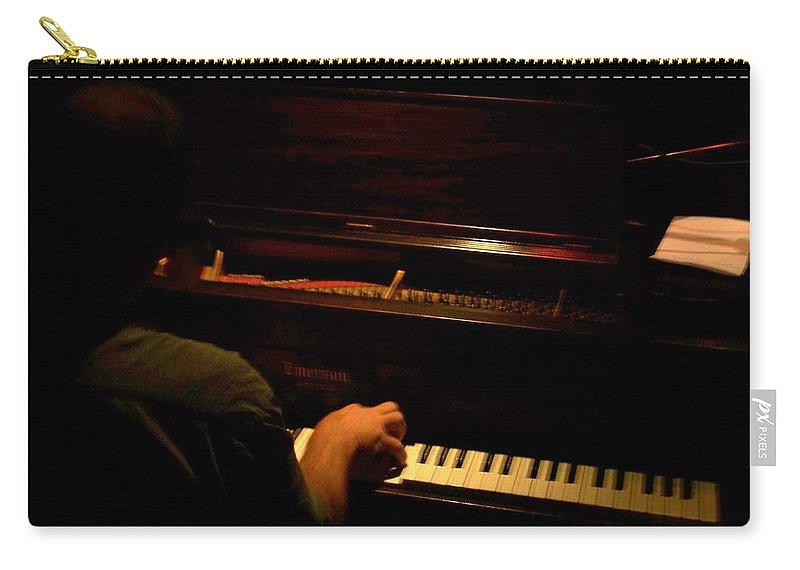 Jazz Carry-all Pouch featuring the photograph Jazz Estate 11 by Anita Burgermeister