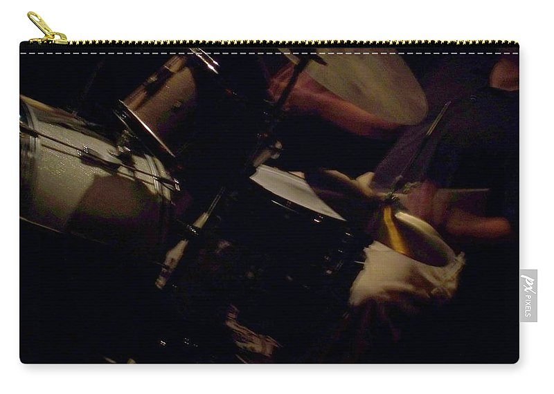 Jazz Carry-all Pouch featuring the photograph Jazz Estate 13 by Anita Burgermeister