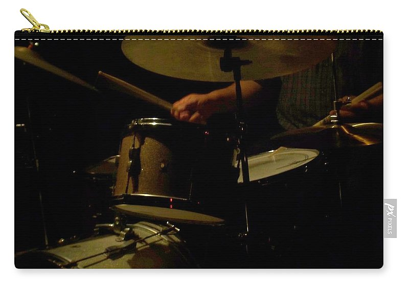 Jazz Carry-all Pouch featuring the photograph Jazz Estate 2 by Anita Burgermeister