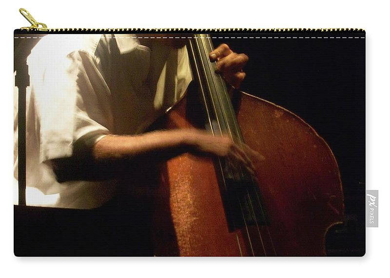 Jazz Carry-all Pouch featuring the photograph Jazz Estate 5 by Anita Burgermeister