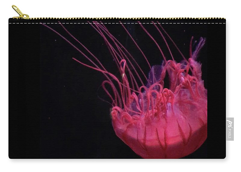 Carry-all Pouch featuring the photograph Jelly by Andrea Schumacher