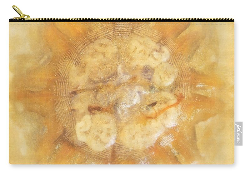 Sacrifice Carry-all Pouch featuring the photograph Jellyfish In The Sand by Hal Halli