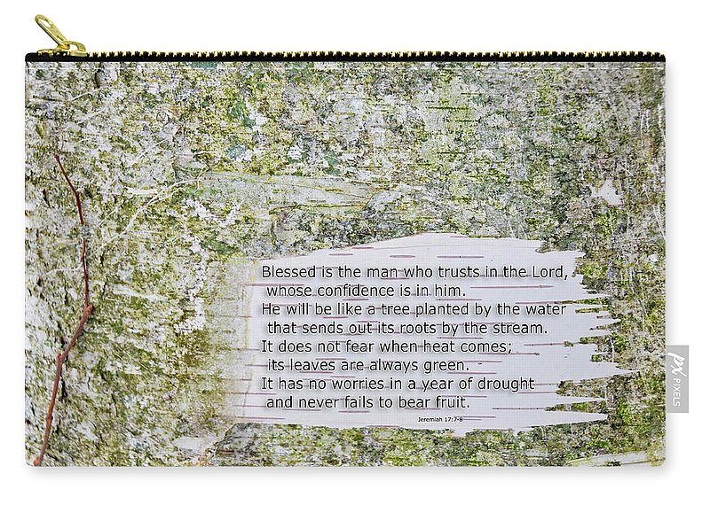 Background Carry-all Pouch featuring the photograph Jeremiah 17 by David Arment