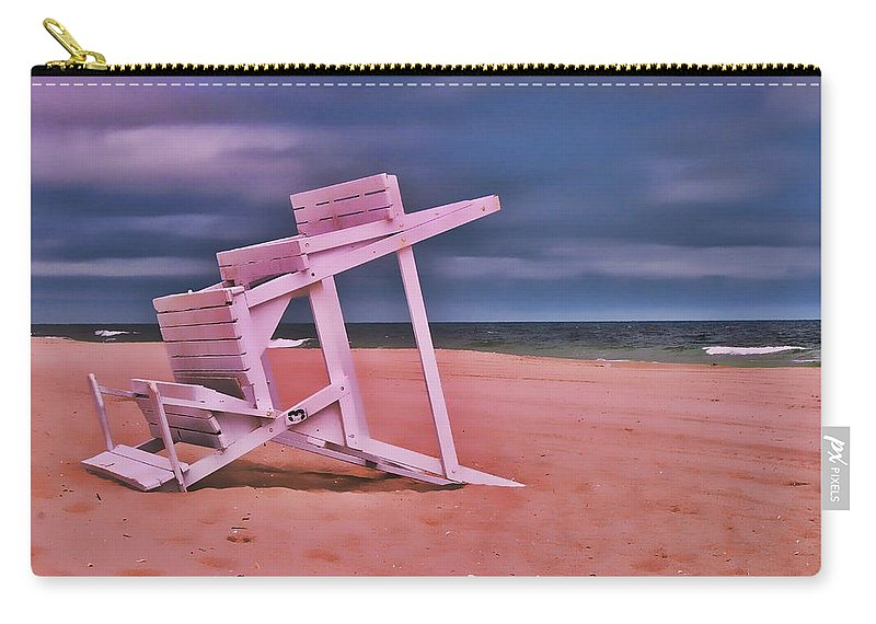 Island Beach State Park Carry-all Pouch featuring the photograph Jersey Shore 2 by Allen Beatty
