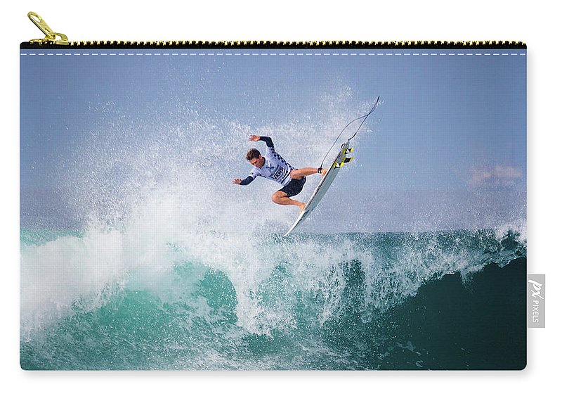 Surfing Carry-all Pouch featuring the photograph Jesse Mendes 4387 by Brian Knott Photography