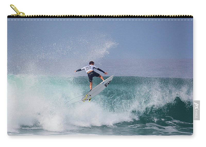 Surf Carry-all Pouch featuring the photograph Jesse Mendes by Brian Knott Photography