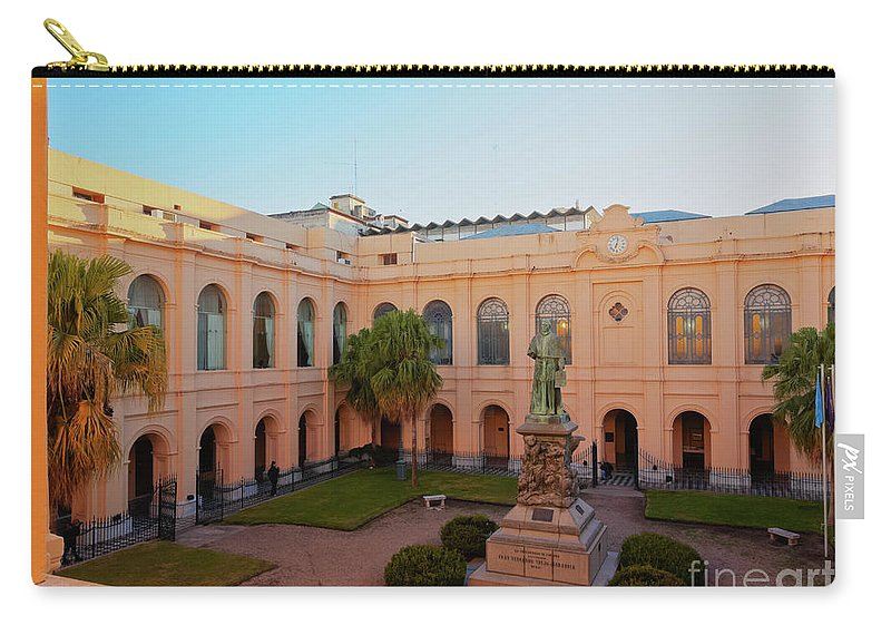 South America Carry-all Pouch featuring the photograph Jesuit Block, Cordoba, Argentina by Karol Kozlowski