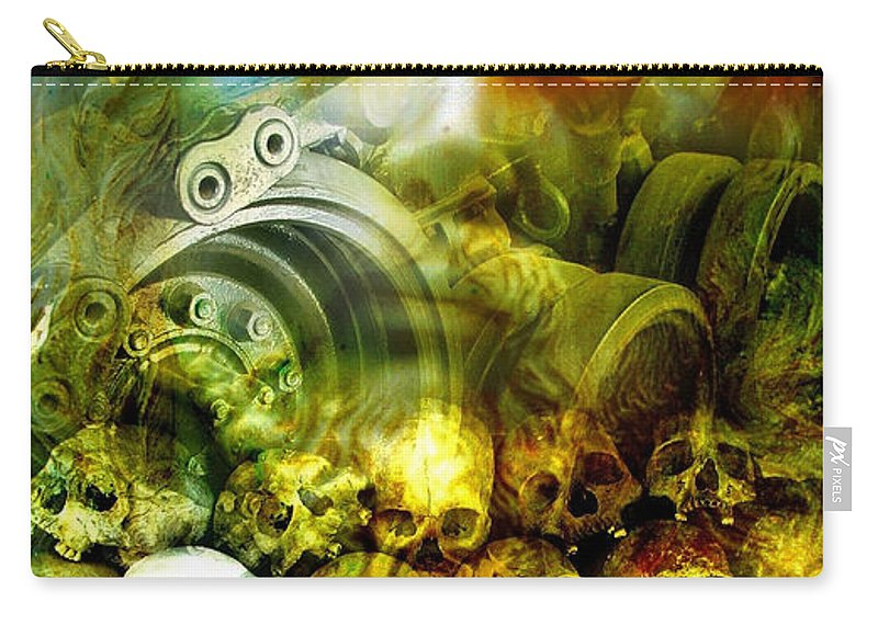 Jesus Carry-all Pouch featuring the photograph Jesus Wept by Skip Hunt