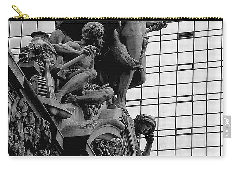 Carving Carry-all Pouch featuring the photograph Jewel In The Crown by RC DeWinter