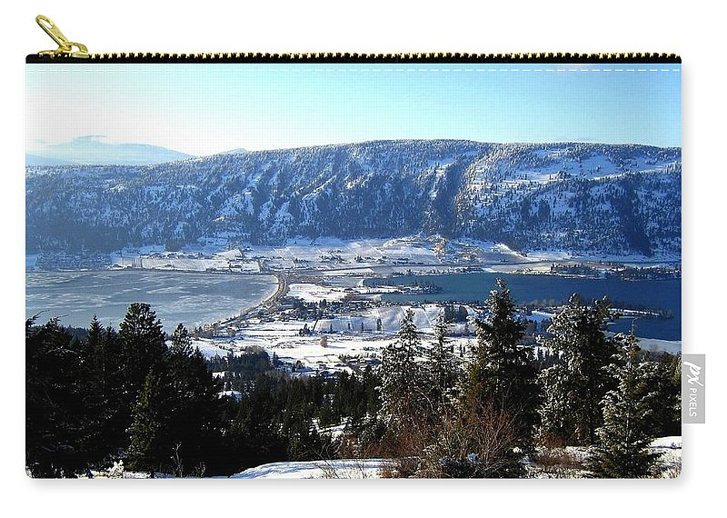 Oyama Carry-all Pouch featuring the photograph Jewel Of The Okanagan by Will Borden