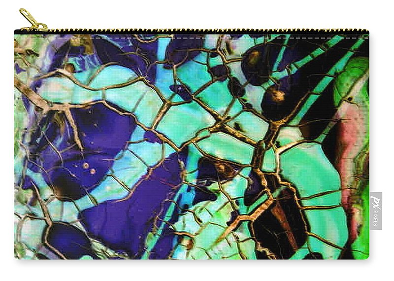 Jewels Carry-all Pouch featuring the painting Jewels by Dawn Hough Sebaugh