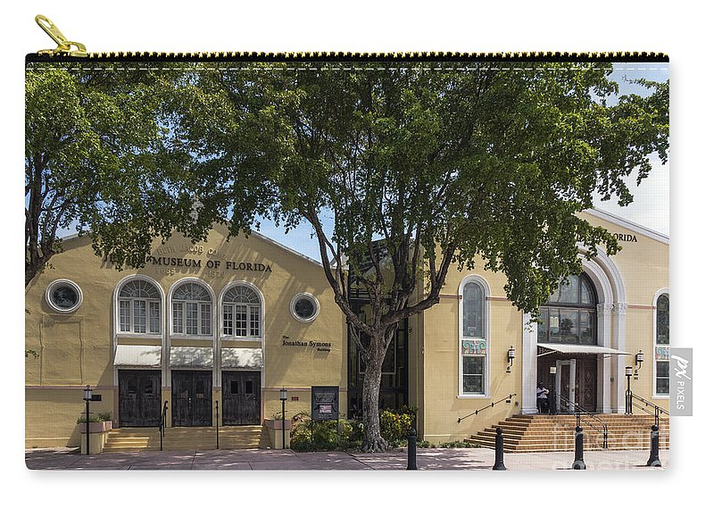 Museum Carry-all Pouch featuring the photograph Jewish Museum Of Florida by Kenneth Lempert
