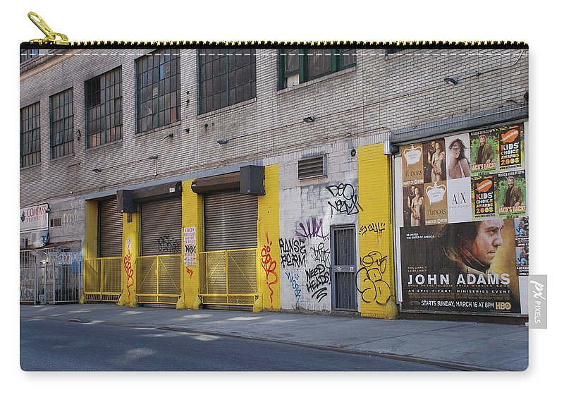 Architecture Carry-all Pouch featuring the photograph John Adams by Rob Hans