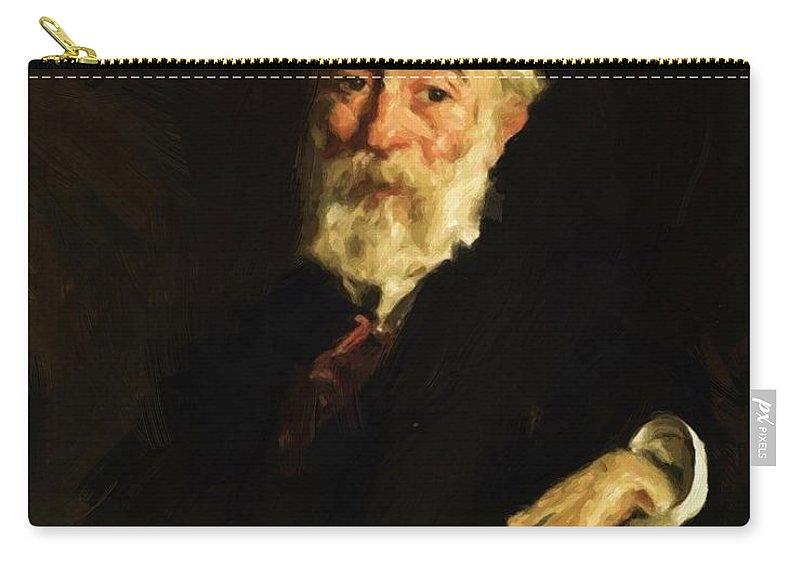 John Carry-all Pouch featuring the painting John Butler Yeats 1909 by Henri Robert