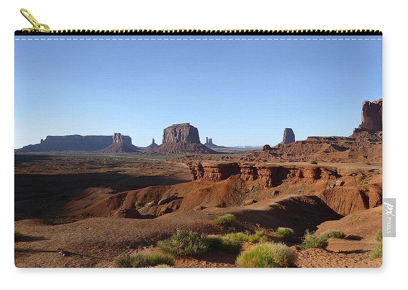 John Ford Point Carry-all Pouch featuring the photograph John Ford Point by Gordon Beck