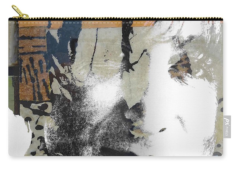 The Beatles Carry-all Pouch featuring the digital art John Lennon - In My Life by Paul Lovering