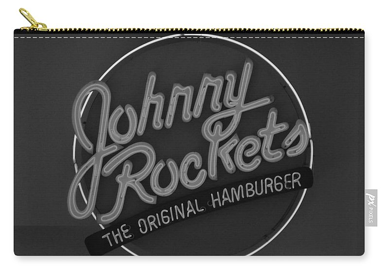 Macro Carry-all Pouch featuring the photograph Johnny Rockets by Rob Hans