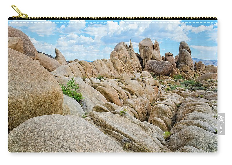 Joshua Tree Carry-all Pouch featuring the photograph Joshua Tree Geology by Kyle Hanson