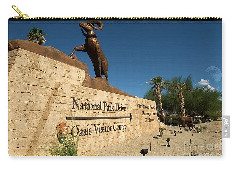 Joshua Tree National Park Carry-all Pouch featuring the photograph Joshua Tree National Park by Bob Pardue