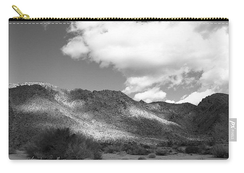 Tumbleweeds Carry-all Pouch featuring the photograph Joshua Tree National Park Tumbleweeds by Stephen Settles