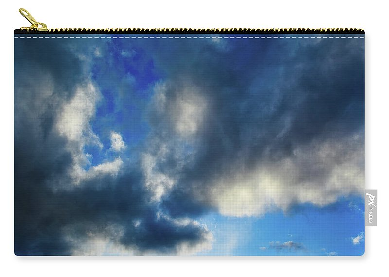 Joshua Tree Carry-all Pouch featuring the photograph Joshua Tree Sky by Kyle Hanson