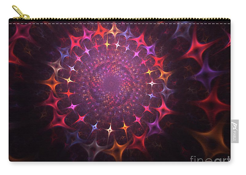 Souls Carry-all Pouch featuring the painting Journey Of The Souls by Steve K